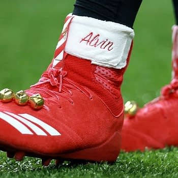 New Orleans Saints Alvin Kamara Fined $6000 for Christmas Cleats