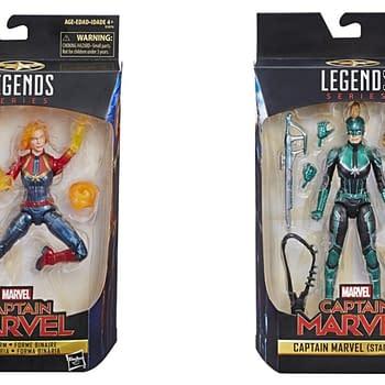 Marvel Legends Captian Marvel Collage