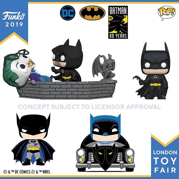 Funko London Toy Fair Batman 80th 1