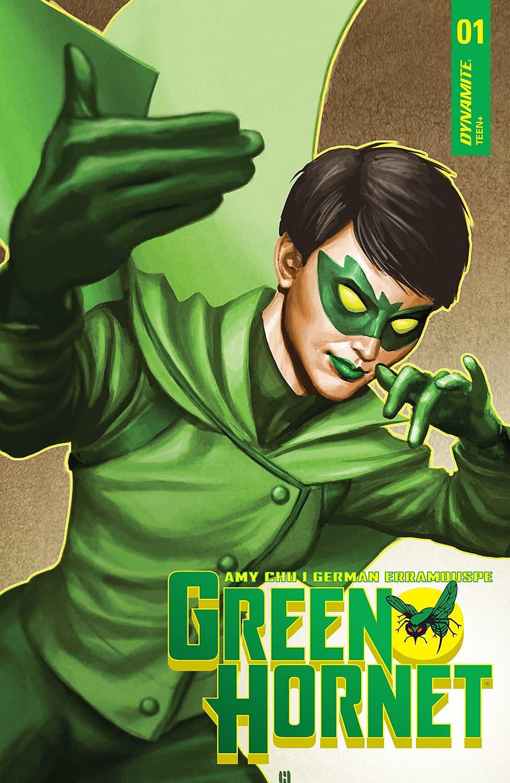 Dynamite Entertainment Green Hornet Cover