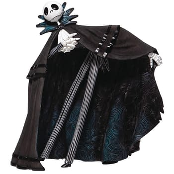 """""""Nightmare Before Christmas"""" Gets Fancy with New Enesco Statues"""