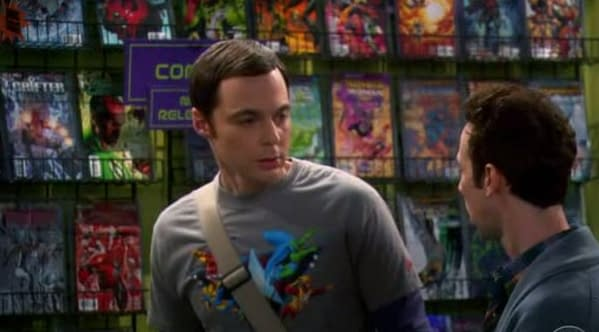 The DC Comics New 52 On The Big Bang Theory