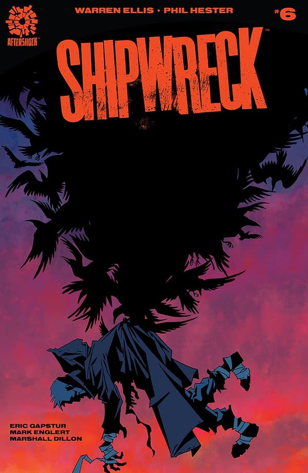Shipwreck #6 cover by Phil Hester and Mark Englert