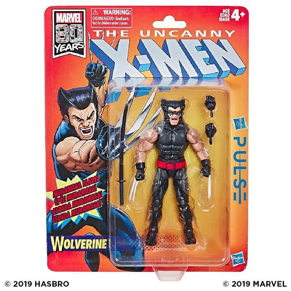 Marvel Legends Retro Collection X-Men Figures Up For Order Now