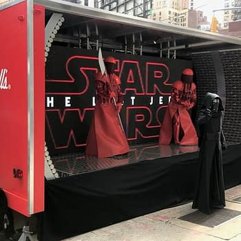 Nerd Food: Campbell Soup's Star Wars Display At New York Comic Con 2017