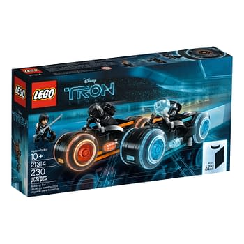 Tron: Legacy Lightcycles Come to LEGO on March 31