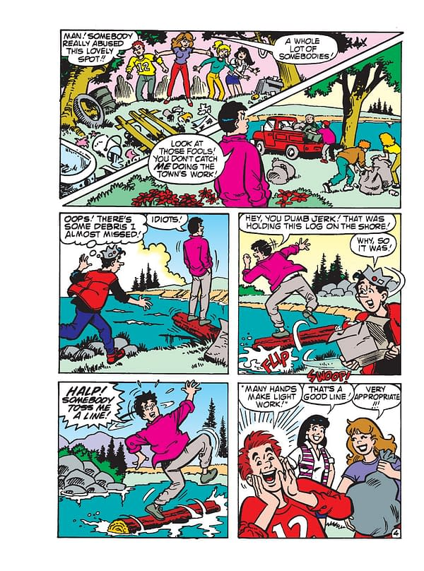 Preview of World of Archie Jumbo Comics Digest #98 from Archie Comics.