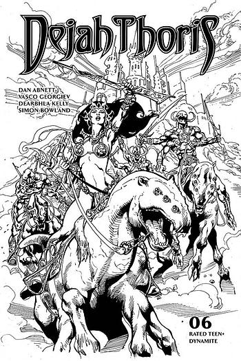 Dejah Thoris #6 1-In-7 Copy Variant Cover