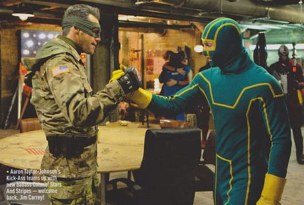 New Images From Kick-Ass 2, The Wolverine, Man Of Steel And The Set Of Thor 2