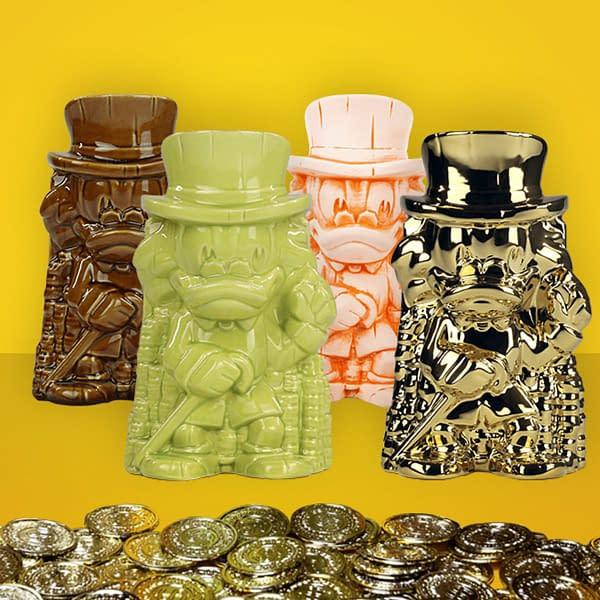 Mondo Has Four Scrooge McDuck Tiki Mugs For Sale Ri