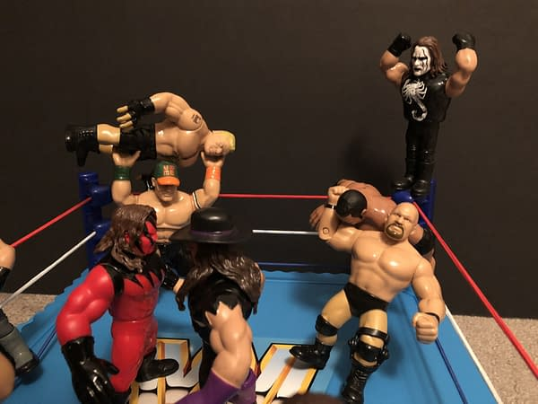 Mattel WWE Retro Ring 6