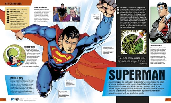 Shorthand History Lessons with DK Books' Justice League: The Ultimate Guide