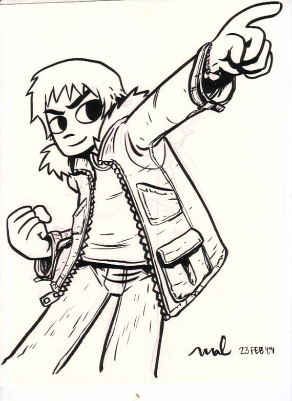 First Scott Pilgrim Cover Artwork To Raise Revenue For Canadian Comic
