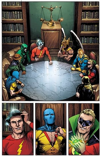 Doomsday Clock #10 and Heroes In Crisis #9 Both Out On Wednesday. Honest.
