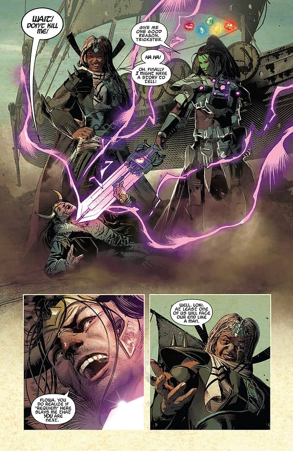Infinity Wars #3 art by Mike Deodato Jr. and Frank Martin