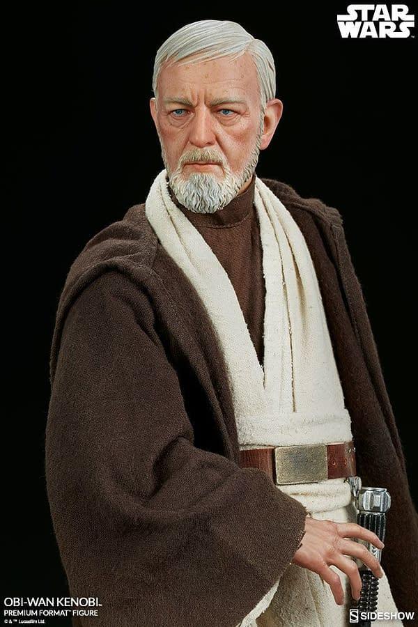 Sideshow Collectibles Star Wars Obi- Wan Kenobi Premium Format Figure 3