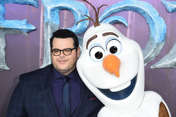 "Josh Gad arriving for the ""Frozen 2"" European premiere at the BFI South Bank, London. Editorial credit: Featureflash Photo Agency / Shutterstock.com"