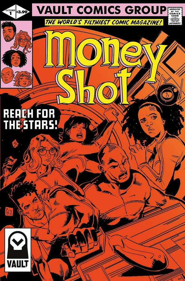 Money Shot #1, Out Tomorrow, is Vault's Best-Selling Comic to Date