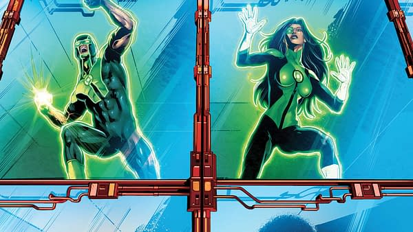 Green Lanterns #40 cover by Will Conrad and Ivan Nunes