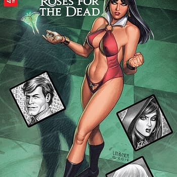 Vampirella: Roses for the Dead #1 Review &#8211 A Good Enough Action Horror