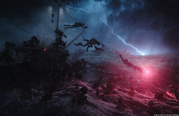 The Trench from Aquaman