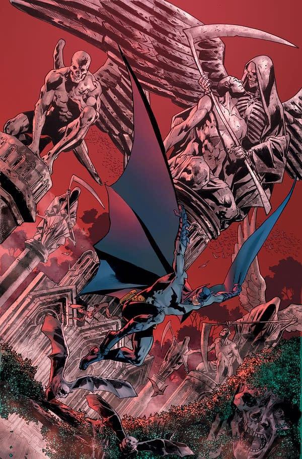 Warren Ellis Has Written Four Issues Of The Batman's Grave, Bryan Hitch Has Drawn Three…