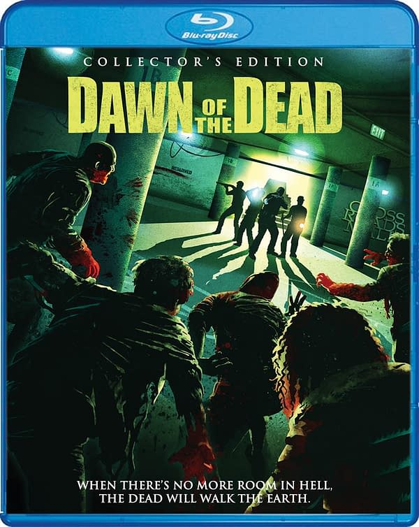 Dawn Of The Dead, The Zack Snyder One, Getting Collector's Blu Ray From Scream Factory