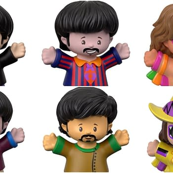 Ooh Yeah Mattels Fisher-Price Little People Line Adds WWE The Beatles Dig it
