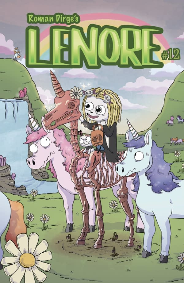 Roman Dirge's Lenore Relaunched in August as Lenore Volume III