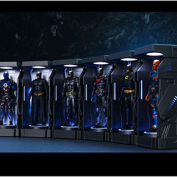 Batman Has His Very Own Armory With New Hot Toys Collectible