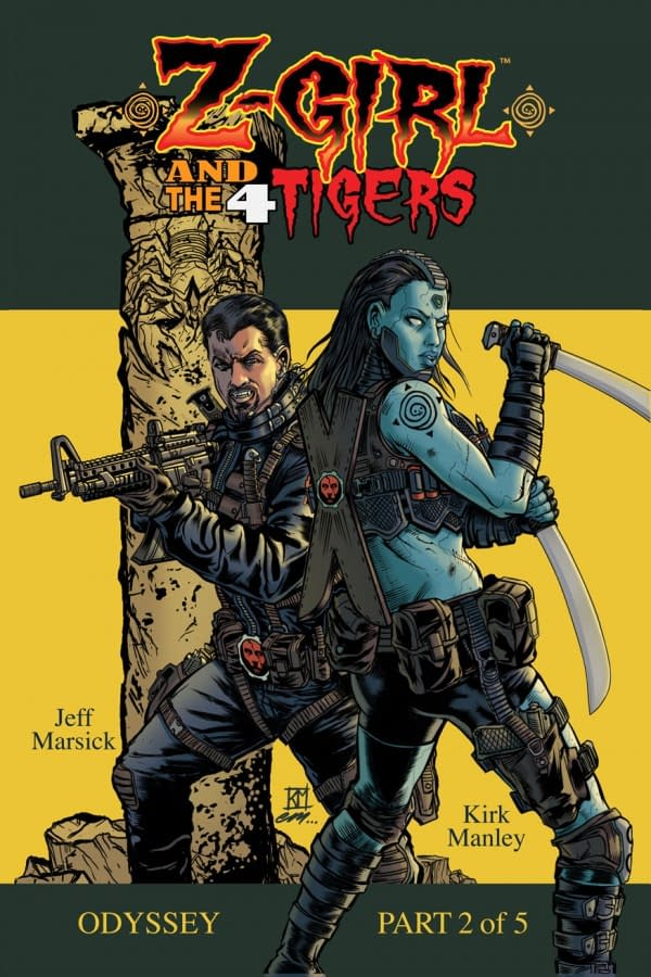 NYCC Debut: Z-Girl And The 4 Tigers #2