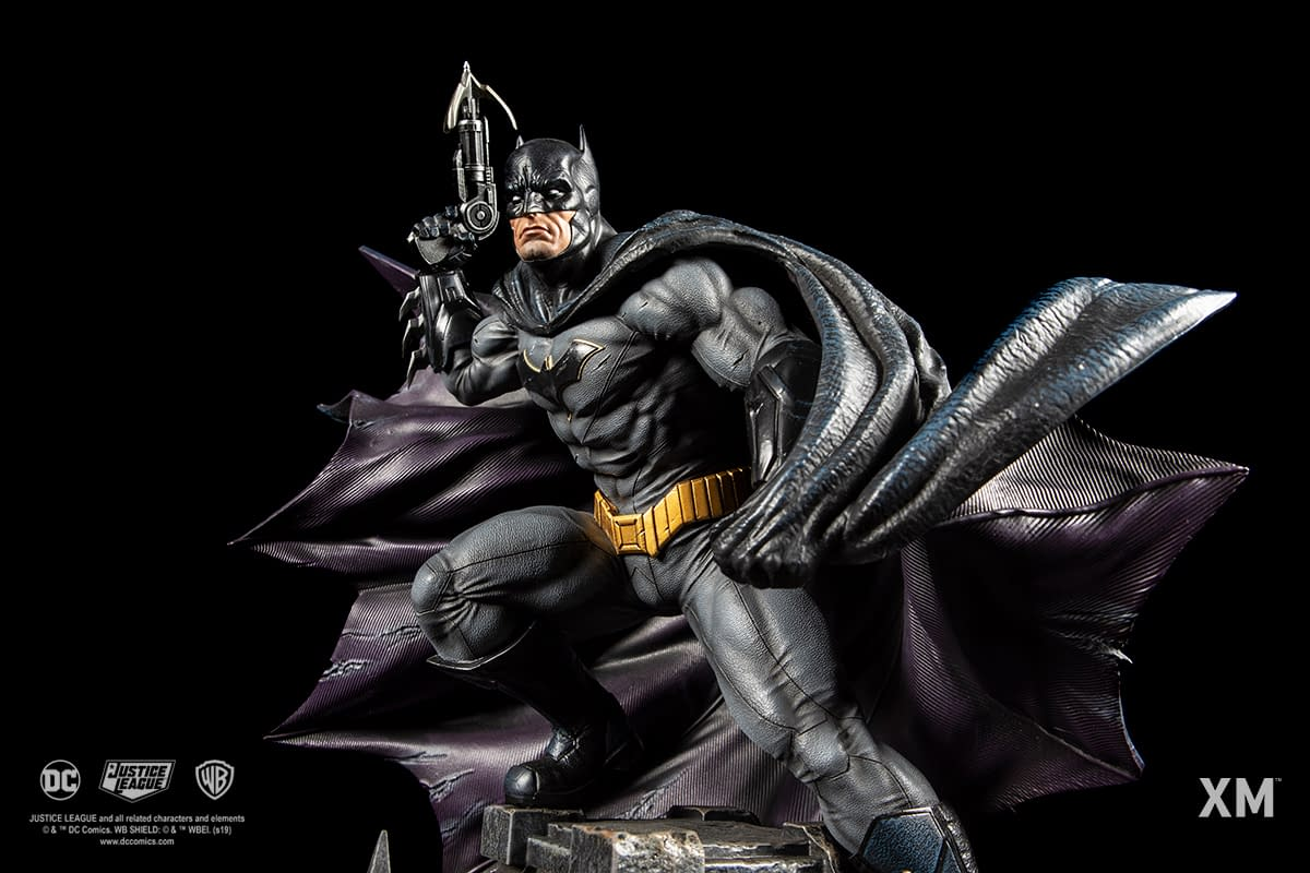 Batman Gets a Rebirth with New XM Studios DC Comics Statue