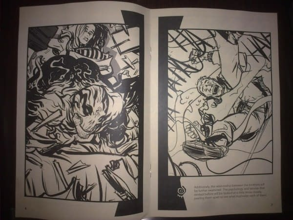 The Joe Casey/Nathan Fox HAUNT Ashcan From Image