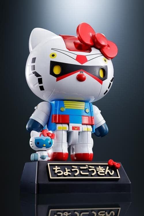 Hello Kitty and Gundam Crossover is Here from Bandai