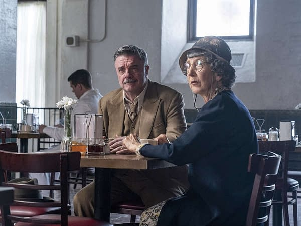 Nathan Lane as Det. Michener in Penny Dreadful: City of Angels, courtesy of Showtime.