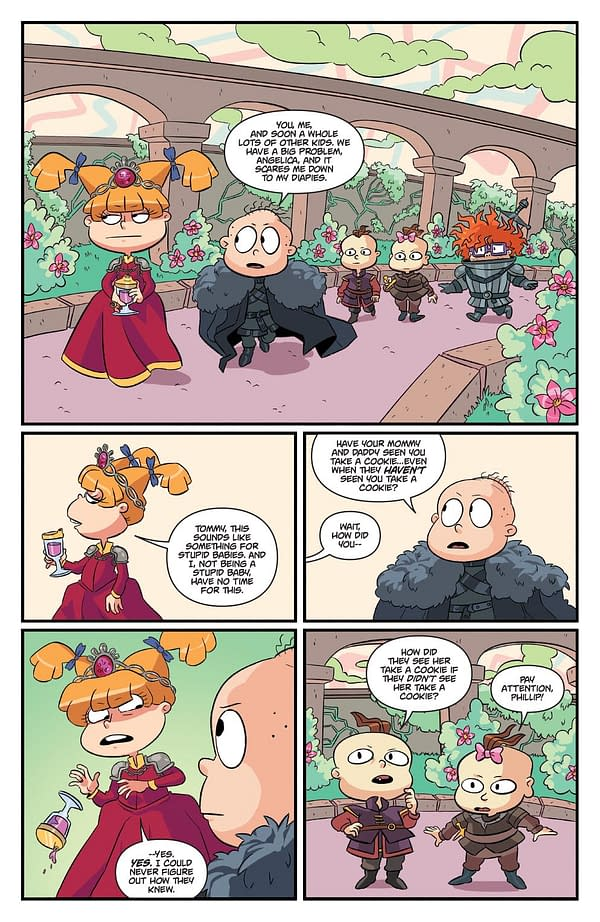 When Rugrats Does Games Of Thrones….