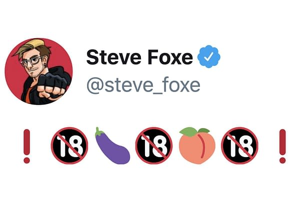A tweet from writer Steve Foxe. Credit: Steve Foxe.