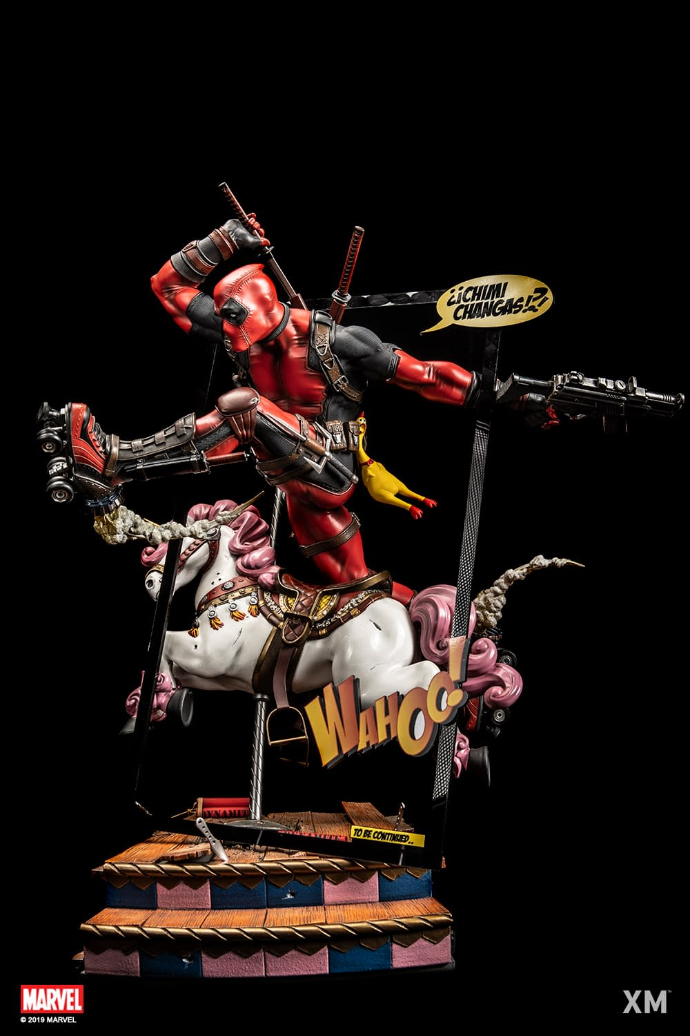 Deadpool Gets a Magically Hand-Crafted Statue from XM Studios