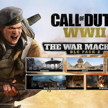 Activision Reveals More Information on COD: WWIIs Second DLC The War Machine