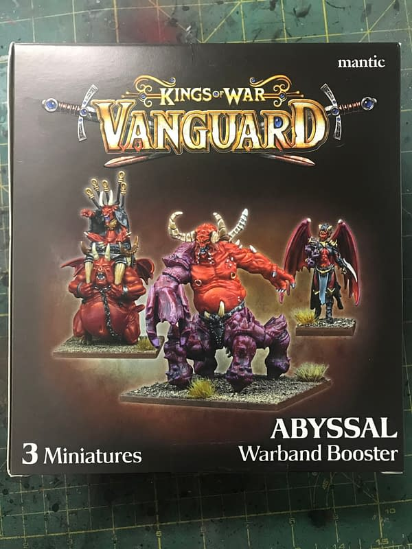 Kings of War: Vanguard Abyssal Warband Booster Review