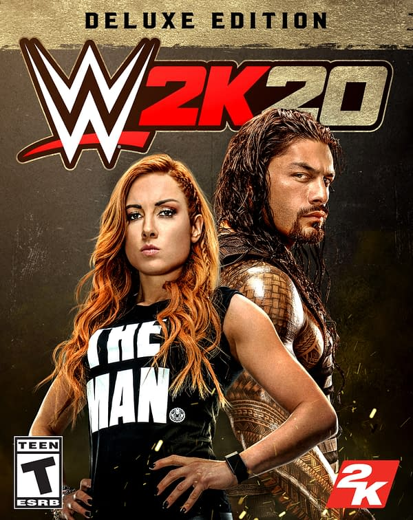 "2K Sports Reveals ""WWE 2K20"" Cover Art And Trailers"