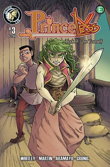 Princeless Book 9: Love Yourself Individual Issues Cancelled, Original Graphic Novel Planned Instead
