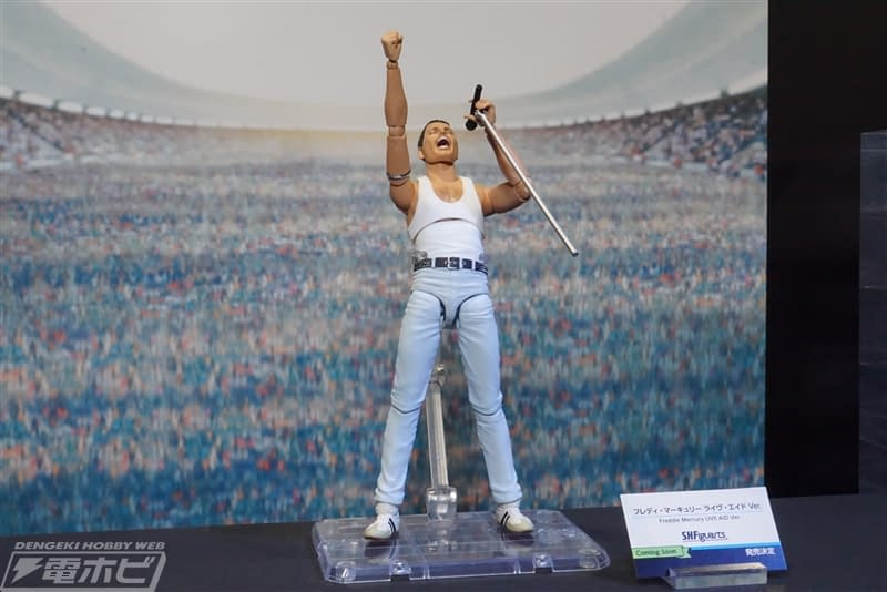 Freddie Mercury Makes His Way to the Stage Figurarts Figure