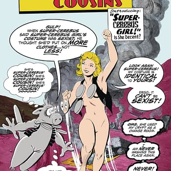"Dave Sim Does Supergirl In ""Attractive Cousins"" Cerebus One-Shot"