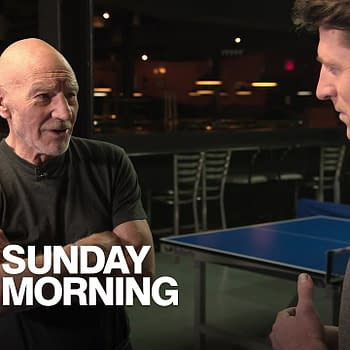 "Sir Patrick Stewart, on ""Star Trek"" and sonnets, courtesy CBSViacom."