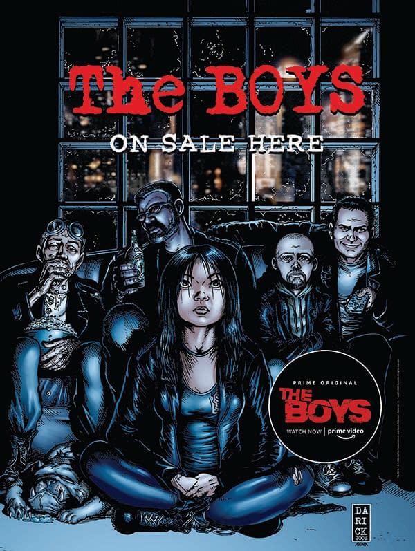 The Boys Gets a New Comic Book Series By Garth Ennis and Russ Braun Ahead Of Season 2