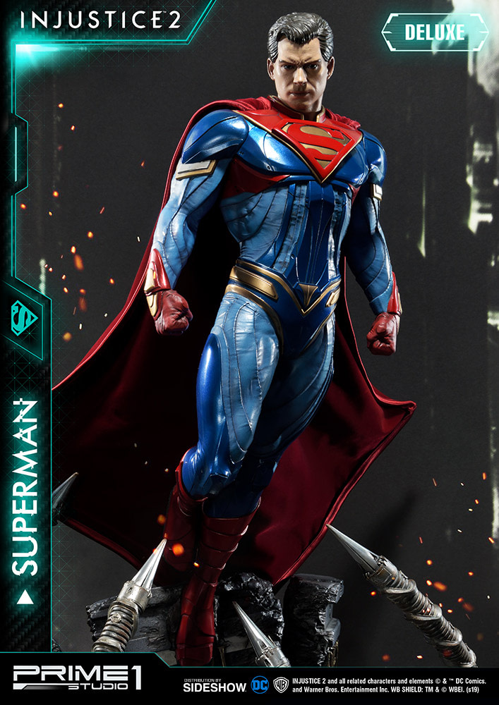 Injustice 2 Superman Statue de Prime 1 Studios