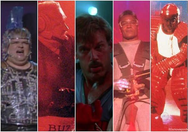 Classement des méchants du film de Schwarzenegger The Running Man
