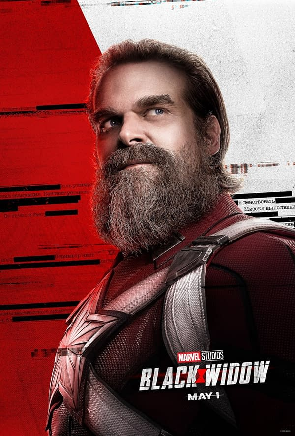 """Black Widow"": David Harbour Says Red Guardian is the ""Best Character"" in the MCU"
