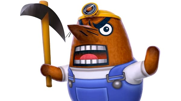 "Nintendo Has Fired... Mr. Resetti in ""Animal Crossing: New Horizons"""